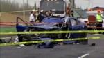 Saint-Hilaire school bus crash: 1 dead, 1 critical