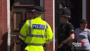Manchester police raid home, neighbour says different people always entering, leaving house