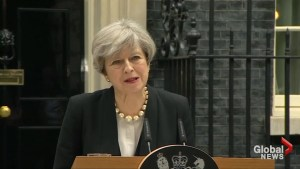 Theresa May: Security services on high-alert following Manchester attack