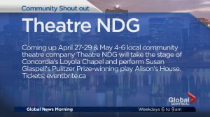 Community Events: Theatre NDG