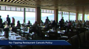 No-tipping restaurant changes policy
