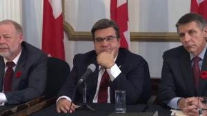 Coderre: Let the experts do their jobs