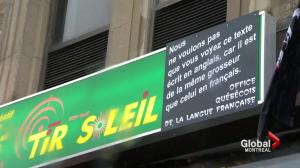 Tir du Soleil refuses to pay OQLF fine