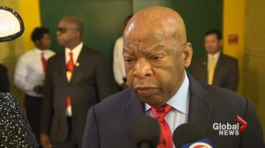 Congressman John Lewis comments on not attending the George W. Bush inauguration