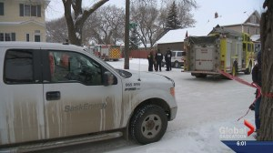 Ruptured gas line to blame for evacuation in part of Saskatoon's Caswell Hill neighbourhood