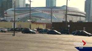 City of Edmonton cracks down on illegal parking around Rogers Place
