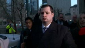 WATCH: Tense moments as Forcillo leaves court on bail despite guilty verdict