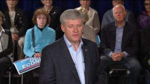 Harper announces $2k tax credit for widowed and single seniors