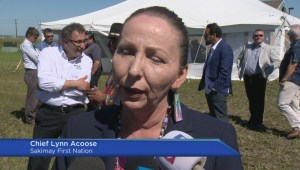 Sakimay First Nation breaks ground west of Regina