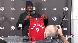 Serge Ibaka joins the Toronto Raptors