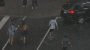 Video shows severe storm hitting Montreal