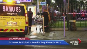 British Columbians react to attack in Nice