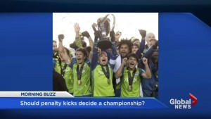 Should penalty kicks decide championships?