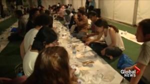 Communities come together in London to break Ramadan fast