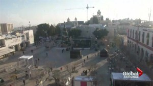 Security tight, crowds smaller in Bethlehem this Christmas