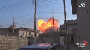 Iraqi government forces making final push to retake Mosul