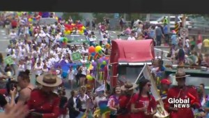 Tens of thousands of people line streets for Halifax Pride Parade