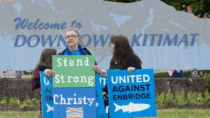 Reaction in Kitimat to Northern Gateway pipeline decision