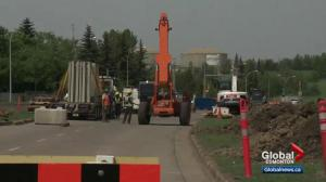 Edmonton business owner voices concern about Valley Line LRT construction