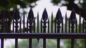 RAW: Spikes installed along White House fence