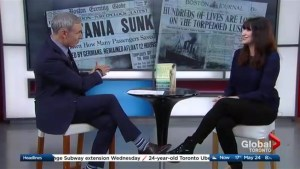 Kim Izzo recalls the sinking of the Lusitania in her new book