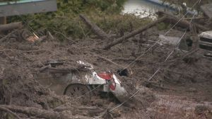 Mother and son survive mudslide in Shuswap