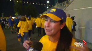 'Greatest night of my life': Golden State Warriors fans jubilant after NBA championship victory