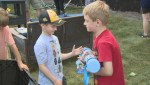 Dartmouth boy fighting cancer gets surprise backyard makeover, meets NHL heroes