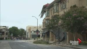 California earthquake cleanup