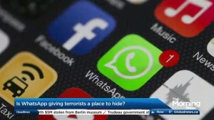 Is WhatsApp allowing terrorists to communicate secretly?
