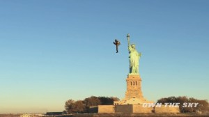 Jetpack developer flies around Statue of Liberty in stunning video