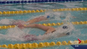 Young Alberta swimmer has eyes set on 2020 games