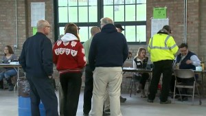 Voters wait to see if Indiana decides presidential nominees