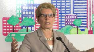 Wynne explains how cap-and-trade will benefit Ontario