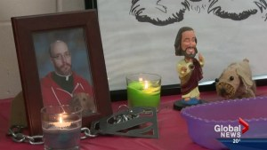 Students remember Father Catfish