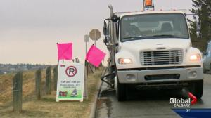 Calgary road crews to get early start on road cleaning