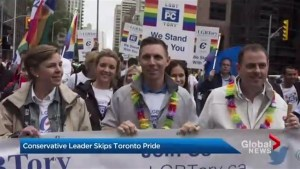 More than a million people took part in Toronto's annual Pride Parade