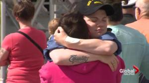 Tearful farewells to HMCS Charlottetown