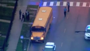 School bus driver shot in face in Chicago