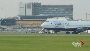 British Airways emergency landing in Montreal