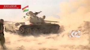 Raw video: Kurdish militia fires rocket artillery at ISIS positions near Mosul, Iraq