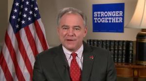 Tim Kaine says Hillary Clinton convincingly won third presidential debate