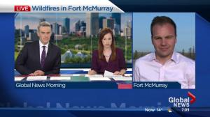 Fort McMurray Fire: Tuesday morning update on firefighting efforts