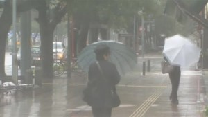 Raw video: Japan hit by high winds and rain as Typhoon Phanfone nears