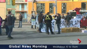 Parmalat Boycott Demo