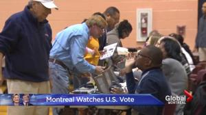 Montreal watches the U.S. elections