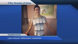 Need a last minute Halloween costume?