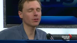 Joel Plaskett performs on The Morning News