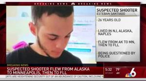 Suspected shooters girlfriend, brother say he had psychological problems