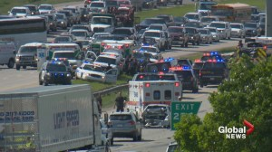 Man charged in Deerfoot incident that left 3 first responders injured